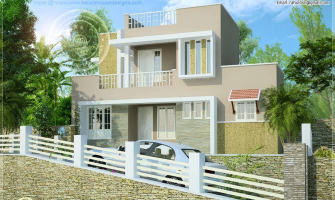 Feet Hillside Home Design Kerala Floor Plans