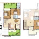 Feet House Map Decorchamp Modern Home Design Dan Plans