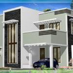 Feet Kerala Flat Roof Home Design House Plans