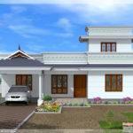 Feet Kerala Model One Floor House Design Idea
