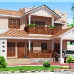 Feet Kerala Style Bedroom Villa Home Design Floor Plans