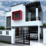 Feet Modern Contemporary Villa Kerala Home Design Floor Plans