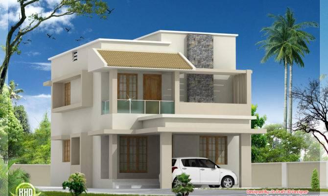 Feet Modern Villa Construction Cost Kerala