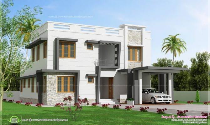 Feet Modern Villa Design House Plans