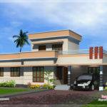 Feet One Floor House Exterior Design Plans