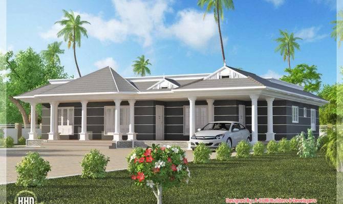 Feet One Floor House Kerala Home Design Plans