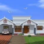 Feet Single Floor Home Designed Green Homes Thiruvalla