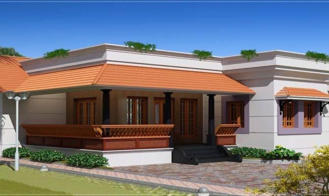 Feet Single Floor House Kerala Home Design