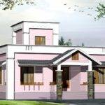Feet Small Budget Villa Plan Home Kerala Plans