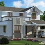 Feet Storey Villa Plan