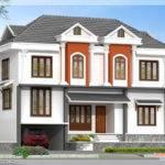 Feet Villa Floor Plan Kerala Home Design Plans