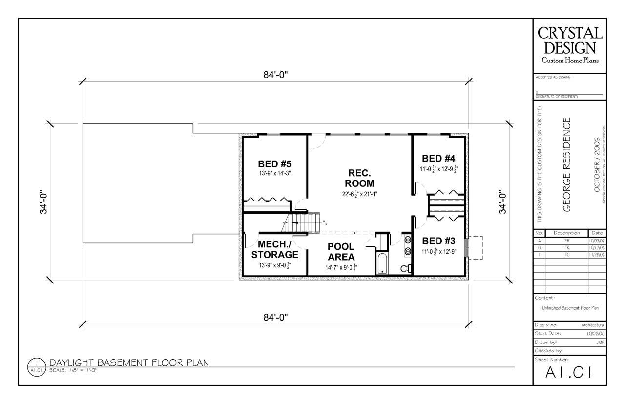 Finished Basement Floor Plans Custom Home Basements Home Plans Blueprints 65071