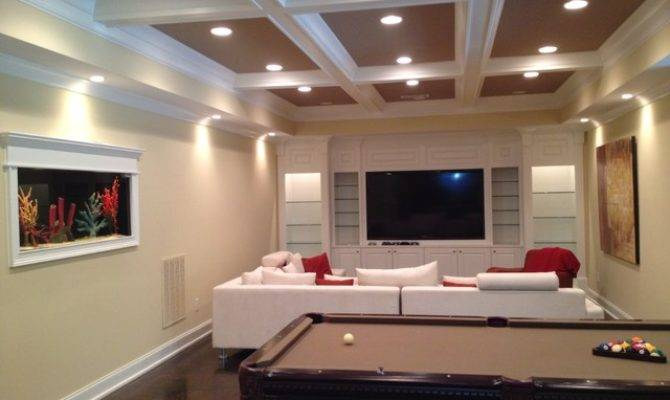 Finished Basement Rec Room Ideas
