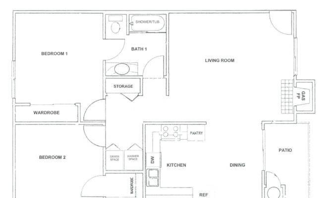 Fireplace Floor Plan Home Outdoor