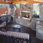 Fireplace Plans Outdoor Design Stone