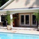 Fireplaces Fire Pits Landscape Pool Design Swimming