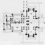 First Floor Plan Martin House Wright Buffalo Architecture