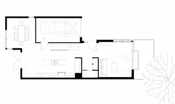First Floor Plan Small Modern Home
