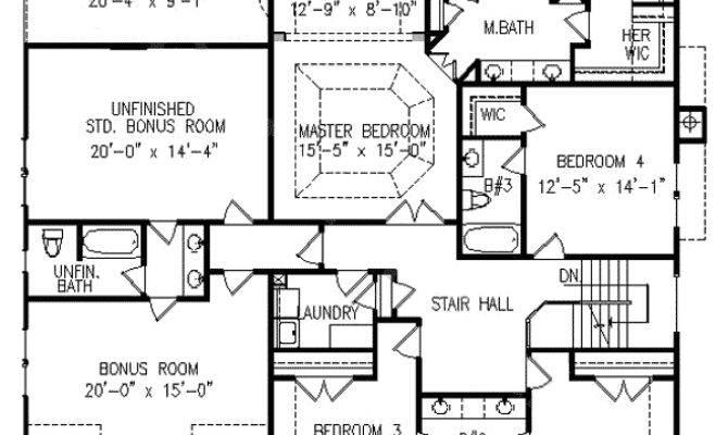 Five Bedrooms Bonus Space Floor