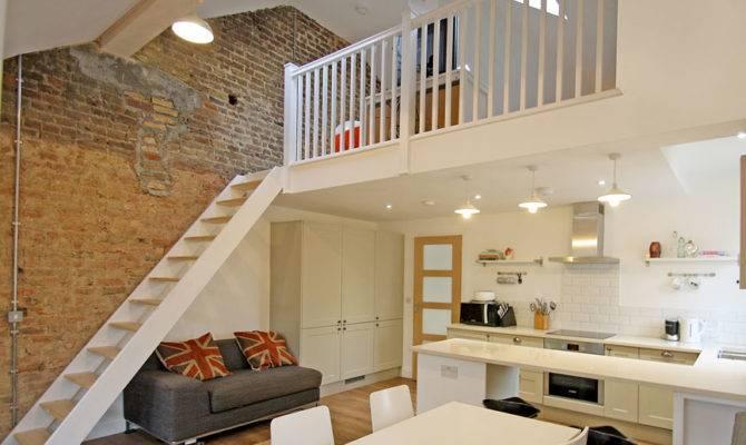 Flat Refurbishment Feature Mezzanine Floor