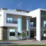 Flat Roof Arabian House Plan Kerala Home Design