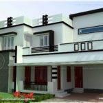 Flat Roof Bedroom Modern House Kerala Home Design Floor Plans