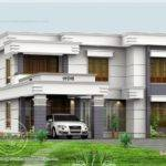 Flat Roof Design Kerala Home Floor Plans