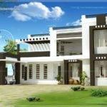 Flat Roof House Exterior Kerala Home Design Floor Plans