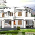 Simple Flat Roof House Exterior Kerala Home Design Home Plans Blueprints 139160
