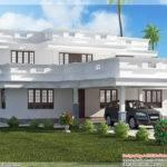 Flat Roof Kerala Home Design