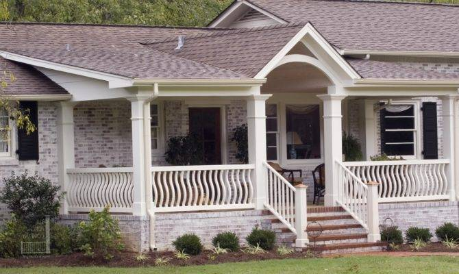 Flat Roof Porches Designs