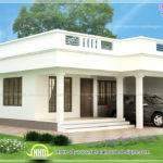 Flat Roof Single Storey Home Kerala Design