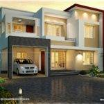 Flat Roof Style House