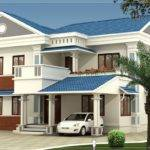 Flat Roof Villa Square Meter Yards Designed