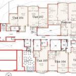 Floor Consists Five Bedsitter Apartments One Bedroom Apartment