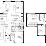 Floor House Plans Bedroom Story