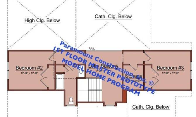 Floor New Home Prototype Could Have Several Plan