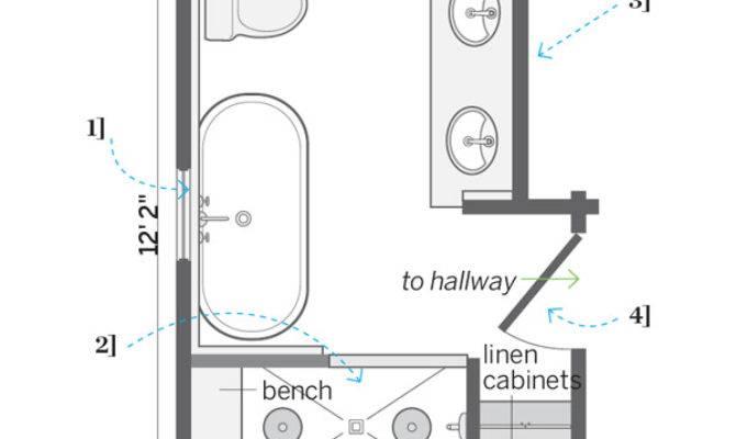 Floor Plan After Accommodating Dormers Diy Attic