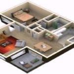 Floor Plan Apartment Youtube