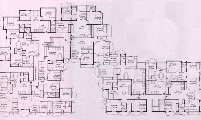 Floor Plan Apoorva Mansion
