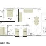 Floor Plan Bedroom Villa