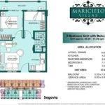 Floor Plan Bedroom Villas Pan