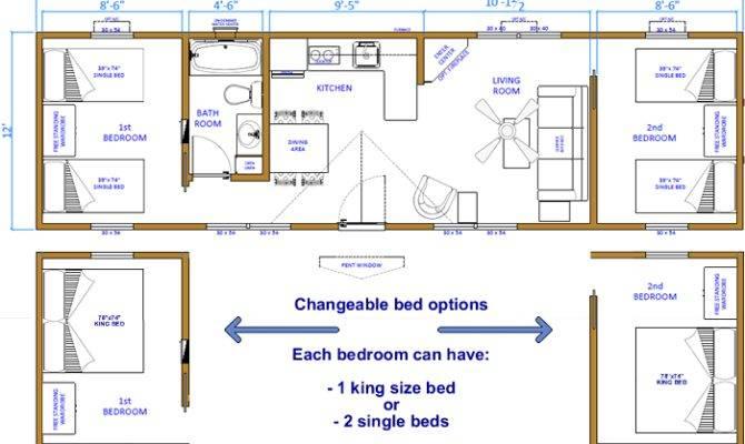 Floor Plan Cabin
