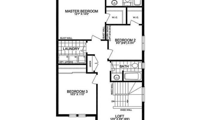 Floor Plan Copperwood Single Home Glenview Homes