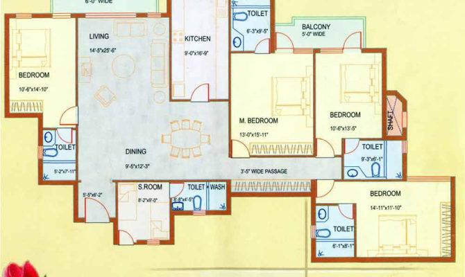 Floor Plan Dlf Westend Heights Gurgaon