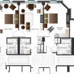 Floor Plan Drawing Landscaping Interior