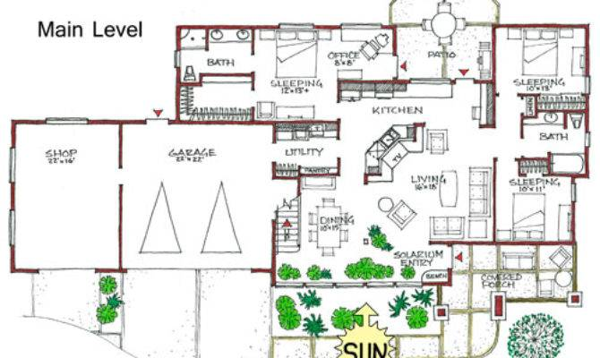 Floor Plan Energy Efficient House Home Deco Plans