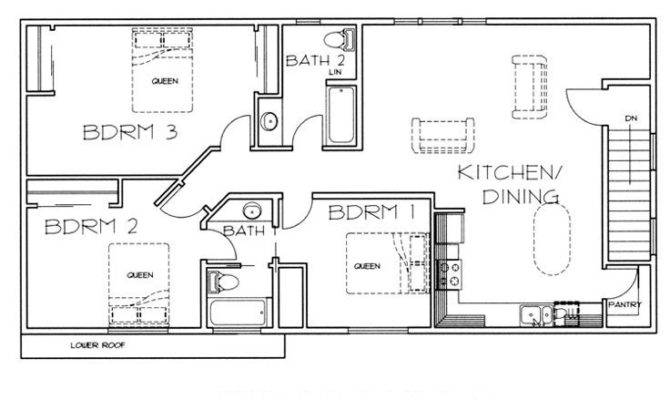 Floor Plan Garage Apartment Dream Home Pinterest