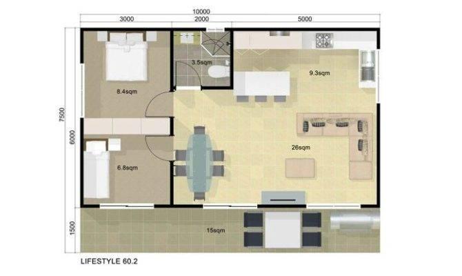 Floor Plan Guest House Bedroom Pinterest