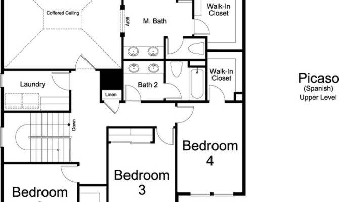 Floor Plan Ivory Home Picaso Spanish Homes Plans